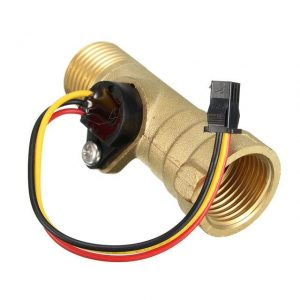 DC-5V-15мА-Brass-1-2-Inch-Thread-Hall-Effect-Water-Flow-Sensor-Switch-Flow-Meter