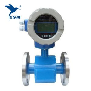 electromagnetic flow meters led display used sewage treatment water