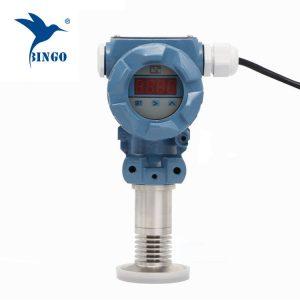 Санитарно-флеш-мембранный преобразователь давления со светодиодным дисплеем