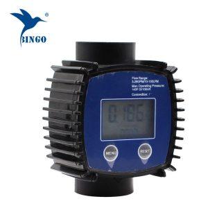 расходомер воды (цифровой расходомер турбинного счетчика, цифровой расходомер турбины)