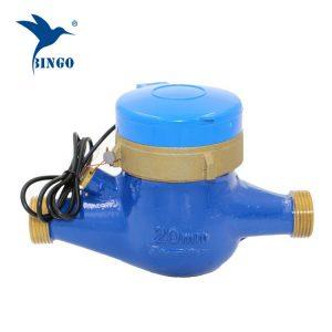 латунный корпус Импульсный датчик расхода воды (1)