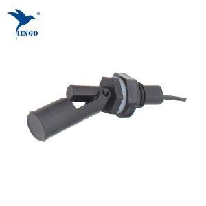 пластиковый горизонтально установленный 2-проводный магнитный жидкостный поплавковый переключатель уровня для высокого / низкого уровня с сигналом переключения