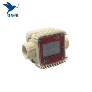 высококачественный 10-120L / min цифровой топливной воды электронный турбинный расходомер